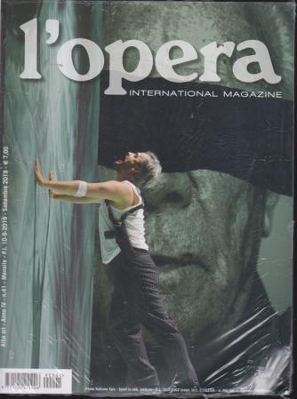 L'opera international magazine - n. 41 - mensile - settembre 2019 -