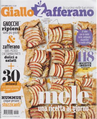 Giallo Zafferano - n. 10 - mensile - ottobre 2019