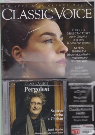 Classic Voice - n. 244 - mensile - settembre 2019 - rivista + cd Pergolesi - Septem verba a Christo