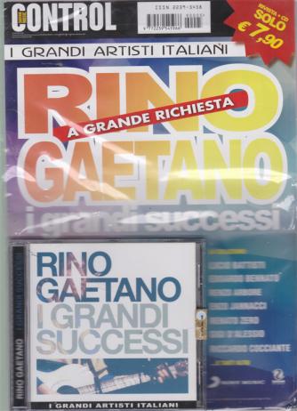 Saifam Music Control  - Rino Gaetano - I grandi successi a grande richiesta - rivista + cd