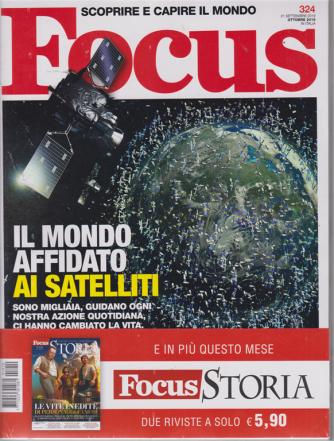 Focus + Focus storia - n. 324 - 21 settembre - ottobre 2019 - 2 riviste