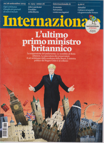 Internazionale - n. 1325 - 20/26 settembre 2019 - settimanale