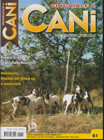 Cinghiale & Cani - bimestrale n. 61 settembre 2019