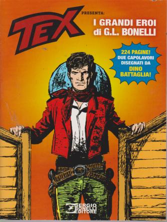 Collana Almanacchi - Speciale G.L.Bonelli - Tex - bimestrale - ottobre 2019 - n. 159 - 224 pagine!