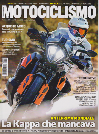 Motociclismo - n. 3 - marzo 2019 - mensile