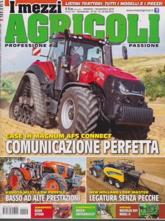 I Mezzi Agricoli - n. 52 - ottobre - novembre 2019 - bimestrale