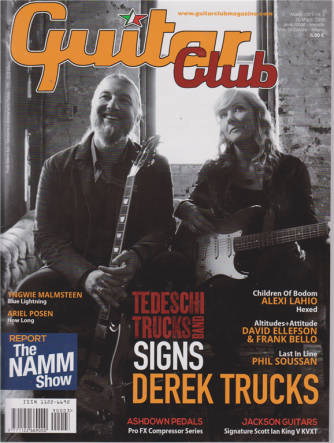 Guitar Club - n. 3 - marzo 2019 - mensile -