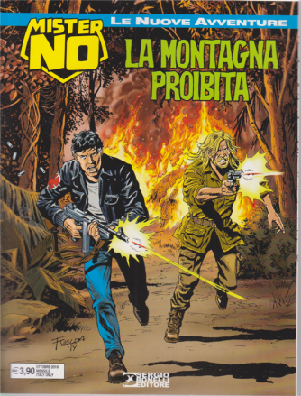 Mister No New - La Montagna Proibita - n. 4 - ottobre 2019 - mensile