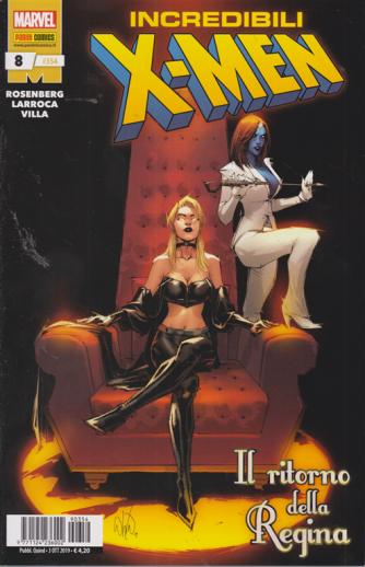Incredibili .X Men - n. 354 - quindicinale - 3 ottobre 2019 - Il ritorno della regina
