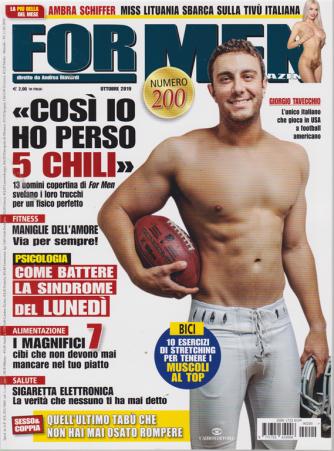 For Men Magazine - n. 200 - ottobre 2019 - mensile