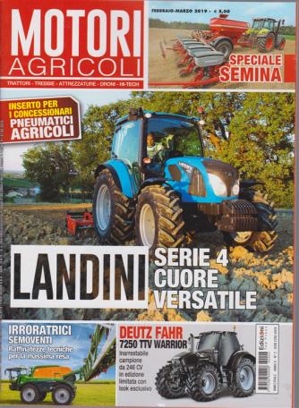 Motori Agricoli - n. 2 - febbraio - marzo 2019 - bimestrale -