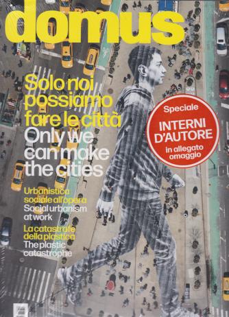 Domus - + Domus interni d'autore - n. 1039 - ottobre 2019 - mensile - 2 riviste