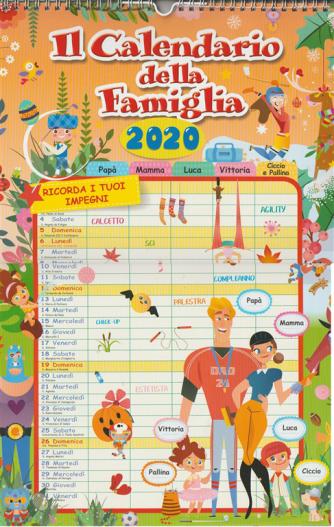 il Calendario della famiglia 2020 - cm. 29x45 con spirale