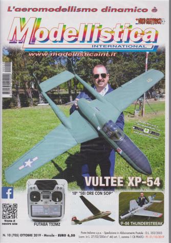 L'aeromodellismo dinamico è Modellistica international - n. 10 - ottobre 2019 - mensile