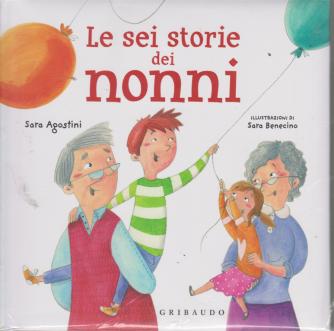 I Libri Di Donna Moderna 3 - Le sei storie de nonni - n. 3 - 27/9/2019 - settimanale - copertina rigida