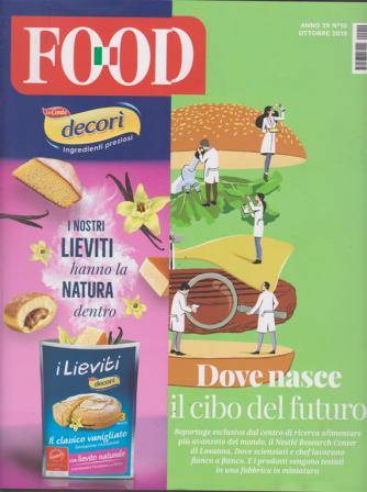 Food - mensile n. 10 Ottobre 2019