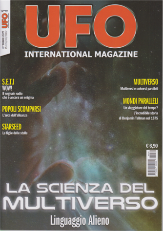 Ufo international magazine - n. 79 - ottobre 2019