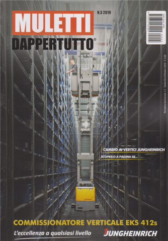 Muletti Dappertutto - n. 3 - bimestrale - settembre - ottobre 2019 -