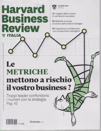 Harward Business Review - ottobre 2019 - mensile - n. 10