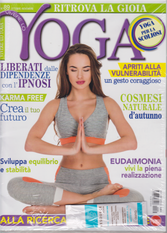 Vivere Lo Yoga - n. 89 - ottobre - novembre 2019 - bimestrale