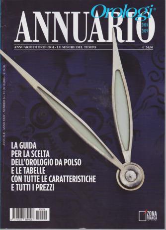 Annuario Orologi - 2018/2019 - n. 24 -