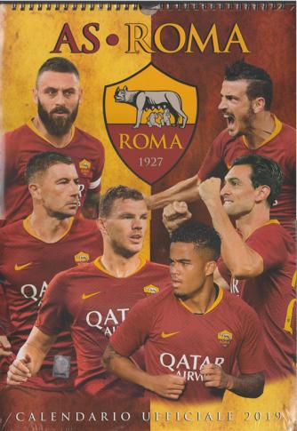 Calendario ufficiale 2019 AS Roma - cm. 29x42 con spirale