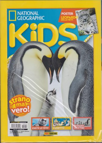 Party Time - National Geographic - Kids - n. 45 - bimestrale - 6 dicembre 2018 - + Space kids & comics - 2 riviste