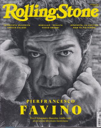 Rolling Stone - Pierfrancesco Favino - n. 12 - mensile - dicembre 2018 - 2 riviste