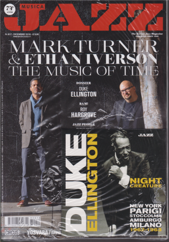 Musica Jazz - +  Cd Duke Ellington - n. 817 - dicembre 2018 - mensile - rivista + Cd