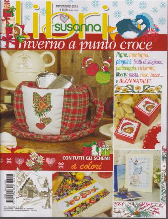 Libri Susanna - n. 18 - dicembre 2018 - Inverno a punto croce - trimestrale