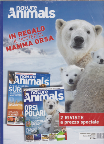 Nature & Animals - n. 6 e n. 7 - trimestrale - dicembre 2018 - 2 riviste