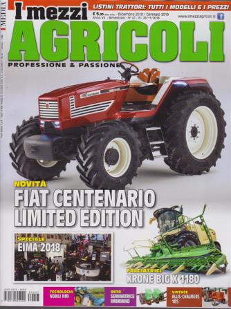 I Mezzi Agricoli - n. 47 - dicembre 2018 - gennaio 2019 - bimestrale