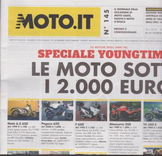 Moto.It - n. 145 - dicembre 2018 - gennaio 2019 - mensile