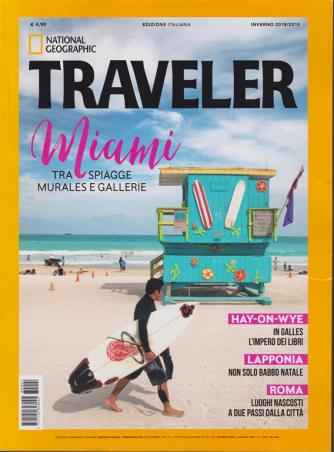 National Geographic - Traveler - inverno 2018/2019 - trimestrale - n. 1 - 13/12/2018