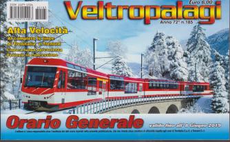 Orario Generale Veltropalagi - valido fino all'8 giugno 2019 - Alta velocità - n. 185 -