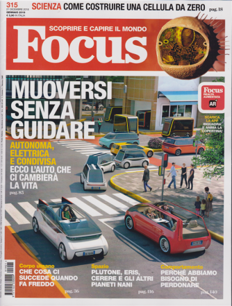 Focus - n. 315 - gennaio 2019 - mensile