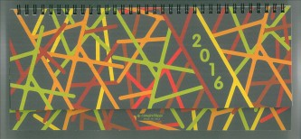 Agenda 2016 Settimanale 29,8x10,5cm-Mod.430 Panorama-Cangini Filippi Spirale