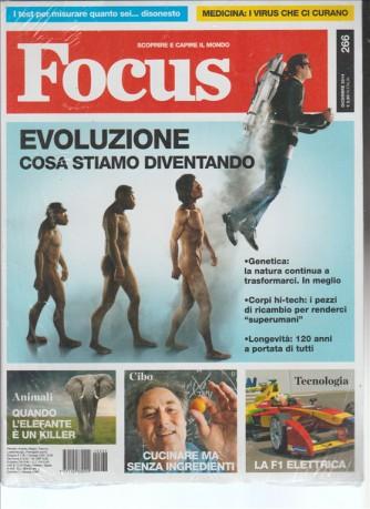 """FOCUS """"Scoprire e capire il mondo"""" Mensile n.266 Dicembre 2014"""