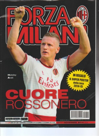 Forza Milan ! - mensile n.571 - Novembre 2014