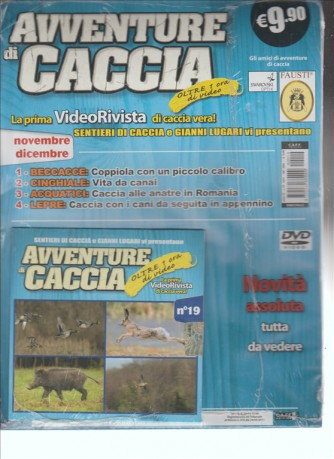 AVVENTURE DI CACCIA - video rivista di caccia n.19 Novembre Dicembre 2014
