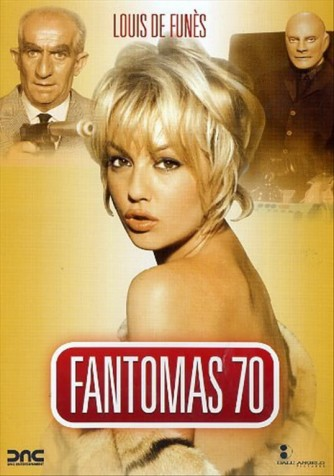 Fantomas 70 - Louis De Funes - DVD