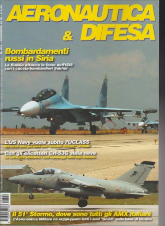 AERONAUTICA E DIFESA - mensile n. 349 Novembre 2015