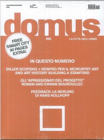 DOMUS la città dell'uomo Periodico mensile n.996 Novembre 2015