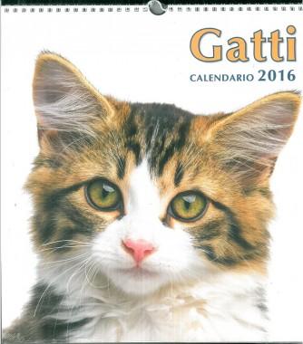 Calendario 2016 Gatti - cm. 31 x 33,5 con spirale