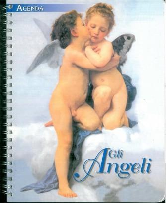 """Agenda """"GLI ANGELI"""" settimanale 2016 - cm 18 x 22 con spirale"""