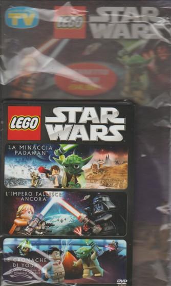 Cofannetto 3 Film STAR WARS LEGO  by Sorrisi e Canzoni TV