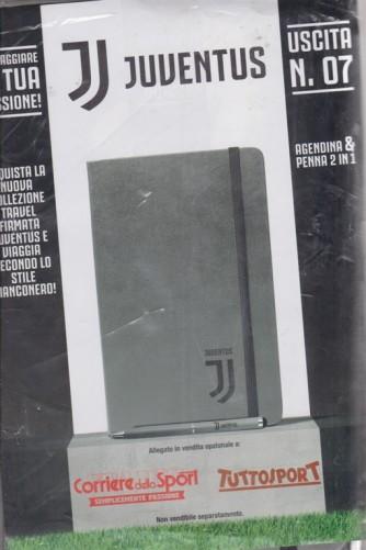 Agendina & penna 2 in 1 - uscita n. 7 - Juventus