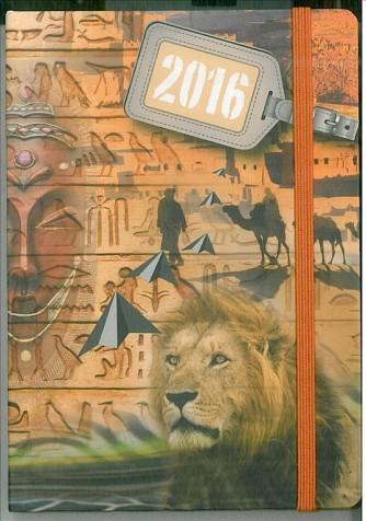 Agenda 2016 Giornaliera 9x13cm-Mod.118 S/D abbinato-Cangini Filippi egitto