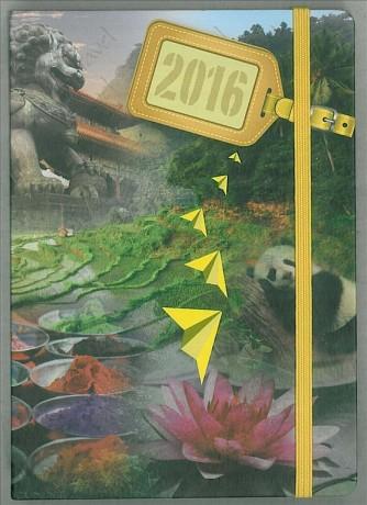 Agenda 2016 Giornaliera 9x13cm-Mod.118 S/D abbinato-Cangini Filippi Cina