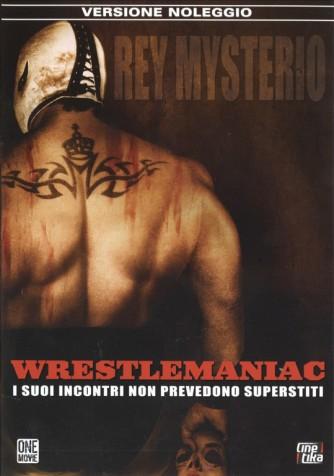 WRESTLEMANIAC REY MYSTERIO - I suoi incontri non prevedono superstiti DVD